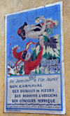 Poster from Nice Carnival 1929