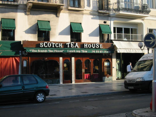 The Scotch Tea House in Nice - still operating today!
