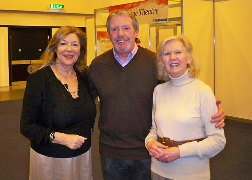 Carol Drinkwater, actress & author and Maureen Emerson at the France show 2011
