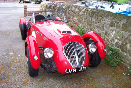 The Healey Silverstone from 'Laughter in Provence'